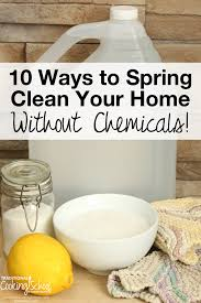 spring clean 10 ways to spring clean your home without chemicals