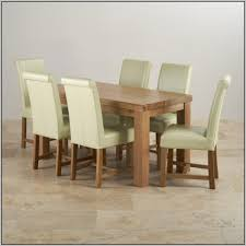 Cream Dining Chairs Cream Leather Dining Chairs With Black Legs Chairs Home
