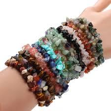 rose stone bracelet images Gravel natural stone bracelets for women created labradorite beads jpg