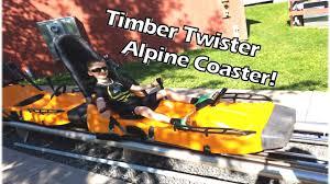 spirit halloween alpine timber twister alpine roller coaster stewartv youtube