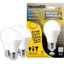 led garage light bulbs miracle led rough service led light bulb a15 garage door and