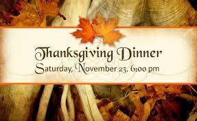 thanksgiving dinner haran baptist church