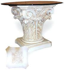 Pedestal Table For Sale Pedestal Table Bases U2013 Littlelakebaseball Com
