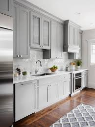 pics of kitchens with white cabinets and gray walls 20 gray kitchen cabinets we re loving hgtv