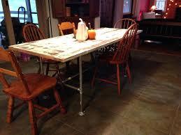 galvanized pipe table legs galvanized pipe table legs door and galvanized pipe dining table for