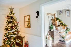 classic christmas tablescape hendrick design co warm cozy rustic farmhouse christmas home tour 2015