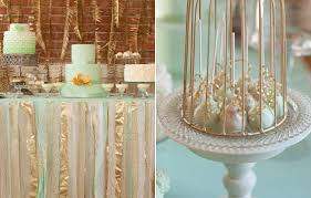 mint wedding decorations mint gold wedding ideas wedding inspiration 100 layer cake