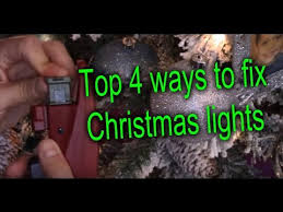 how to fix christmas lights 4 easy ways youtube