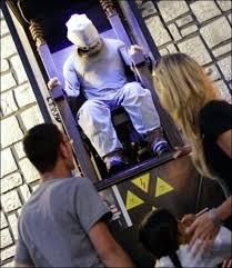 la chaise electrique l attraction foraine de la chaise électrique en passe d être