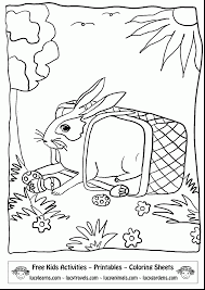 extraordinary easter bunny coloring pages printable with easter