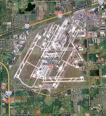 detroit metro airport map dtw detroit metropolitan airport spotting guide transportation