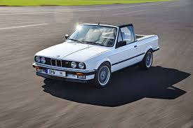 Bmw M3 Series - 1986 bmw m3 pickup concept front three quarter in motion 05