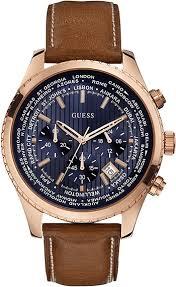 bracelet guess cuir images Montre guess homme w0500g1 quartz chronographe cadran acier png