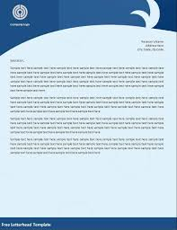 Business Letter Template For Letterhead Free Business Letter Templates Microsoft Word Free Business