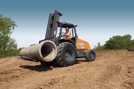 case 588h rough terrain forklift products case construction