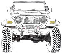 4 door jeep drawing drag to resize or shift drag to move tools pinterest jeeps