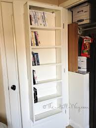 Dvd Rack Wood Plans by Remodelaholic Have Too Many Dvds Try These 7 Dvd Storage Ideas