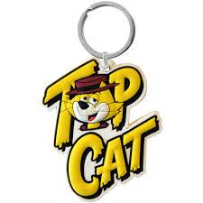 top cat top cat keyring retro classic kids tv show benny boy brains