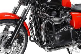 sw motech crash bars engine guards for triumph bonneville se