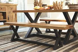 Wesling Dining Room Bench Ashley Furniture HomeStore - Ashley furniture dining table bench