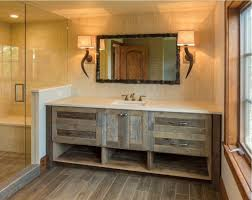 simple farmhouse bathroom vanity u2014 farmhouse design and furniture
