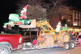 christmas light parade floats gearing up for the ballston spa holiday parade