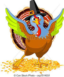 illustration of happy thanksgiving turkey vector clip search