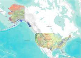 Continental Us Map Alaska Map Continental Us Comparea Alaska Thempfa Org