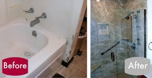 cost to convert bathtub to shower remodel tub into walk in shower