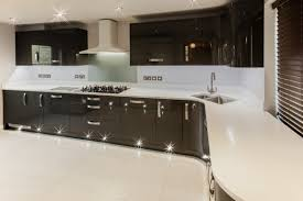 ultra modern gloss kitchen in ely newrooms newrooms