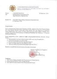 Palawa Ugm Info Bagi Mahasiswa Ugm Program Diploma Universitas Gadjah