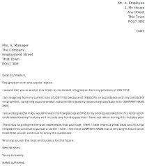 1 week notice resignation letter icover org uk