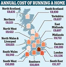cheap places to live in the south why it s 3 000 a year cheaper to live in the north daily mail online