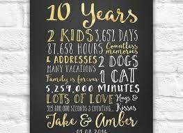 10th anniversary gift 15 10 year wedding anniversary gifts top 20 best 1st wedding