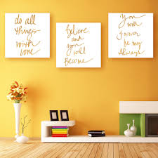 aliexpress com buy hd letter canvas art print painting poster