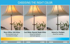 what is the best lighting for choose the right light white light bulbs choosing light