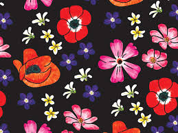 floral tissue paper velvet floral tissue paper 240 20 x30 sheets recycled p1178