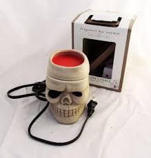 halloween fragrance halloween skeleton skull fragrance bar wax warmer burner electric