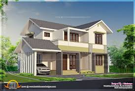 Home Design 2000 Square Feet In India Elevation Of 2000 Square Feet Residence Kerala Home Design And