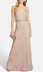blouson wedding dress papell deco beaded blouson gown size 16