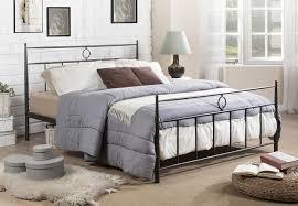 bedroom enchanting queen bed frame in antique brown beautiful