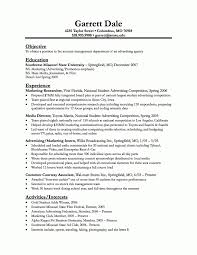 Resume Objective Samples Marketing Resume Objective Sample Free Resume Example And