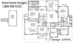First Floor Master Bedroom Texas House Plan U2974l Texas House Plans Over 700 Proven Home