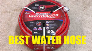 neverkink xp contractor hose review best water hose youtube