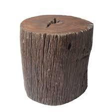 canapé en bois bout de canapé bois de fer 50cm