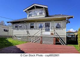 5496 Best Small House Images by Stock Photography Of Small Grey Old Charming House Back Yard