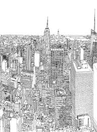 a time lapse film of an artist drawing a detailed large scale