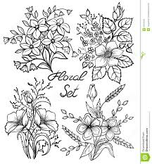 Wedding Flowers Drawing Spring Flower Drawings 72487 Nanozine Painting Practice