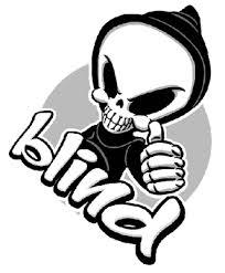 Blind Skate Logo Skate Los All Star96