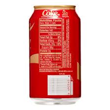 Images Of Coke Coca Cola Caffeine Free Soda 12 Fl Oz 12 Ct Walmart Com